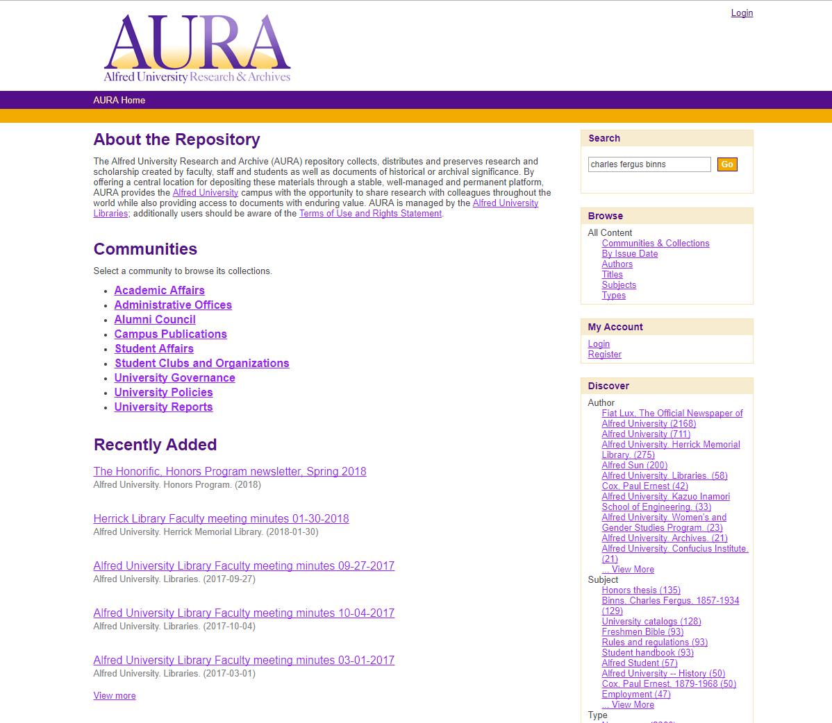 aura search