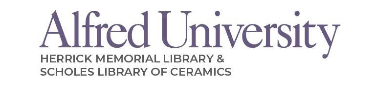 alfred university libraries logo