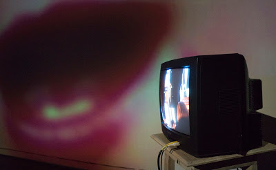 untitiled video installation