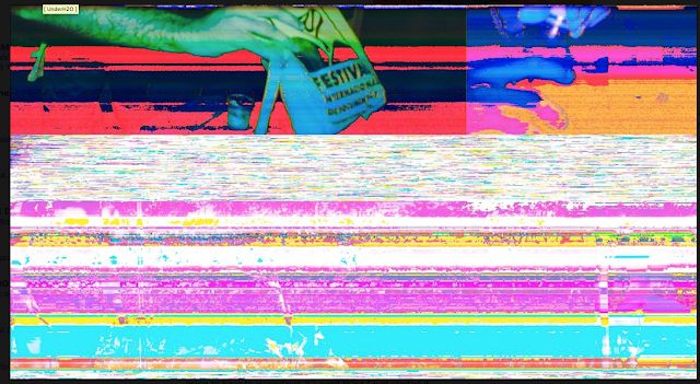 Corruption Inspiration, Glitched Photo-Digital Print