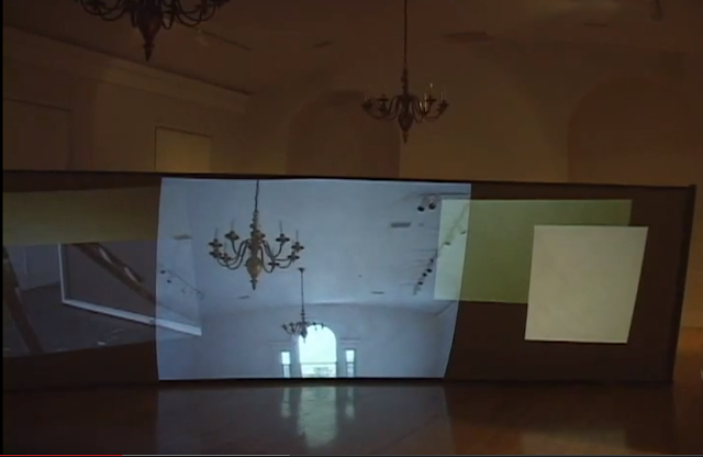 Video Installation with Multiple  Projections