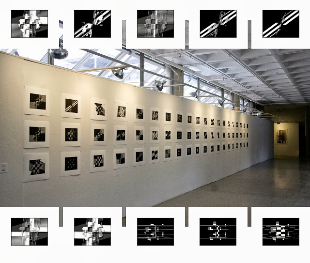 Integrated Circle, Digital Prints Installation