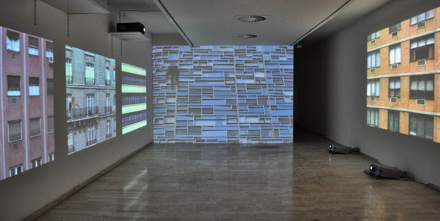 Interval, Multi-screen Video and Sound Installation
