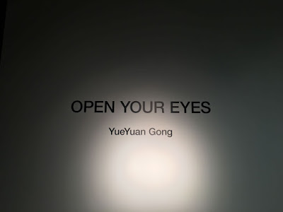 Open Your Eyes show title by YueYuan Gong