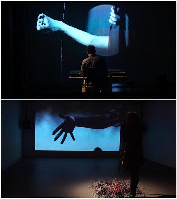 """""""Schism"""" interactive installation, 2015"""