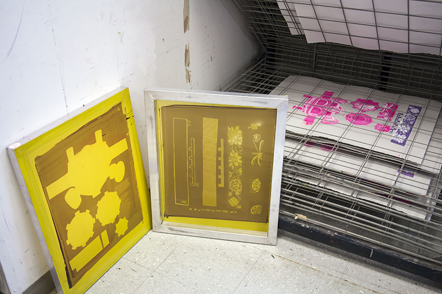 Drying Prints and Screens