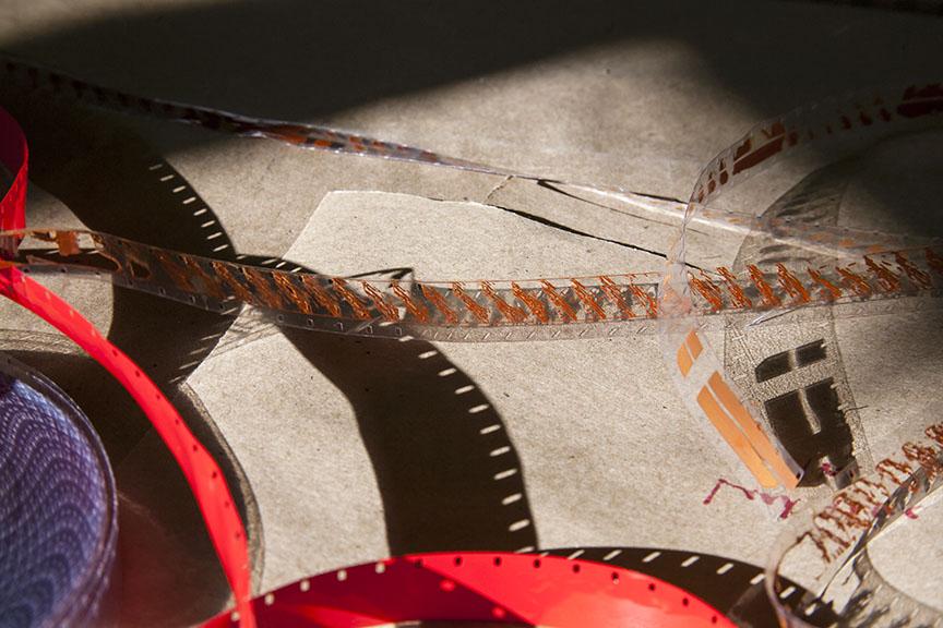 Laser Burned Film Stock