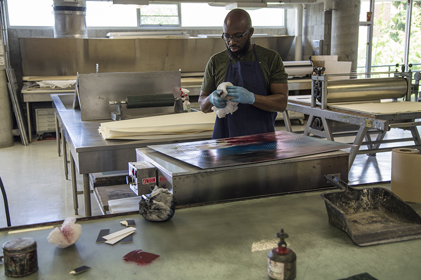 Preparing Aluminum Plate for printing