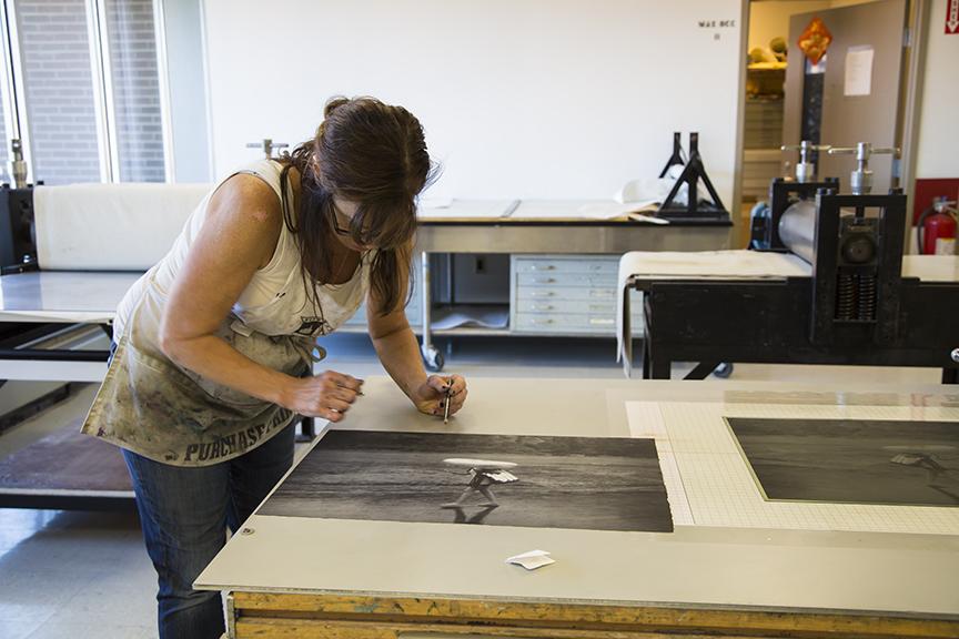 Cassandra signing her work