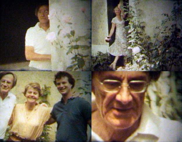 Images from Super-8 tapes being used for Renate's book