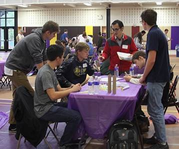 students at our October Engineerig Open House